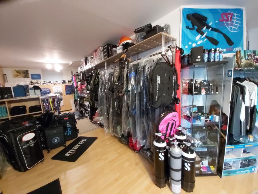 Unser Shop, Balance-Diving - Tauchen in Mainfranken, Arnstein, Deutschland, Bayern