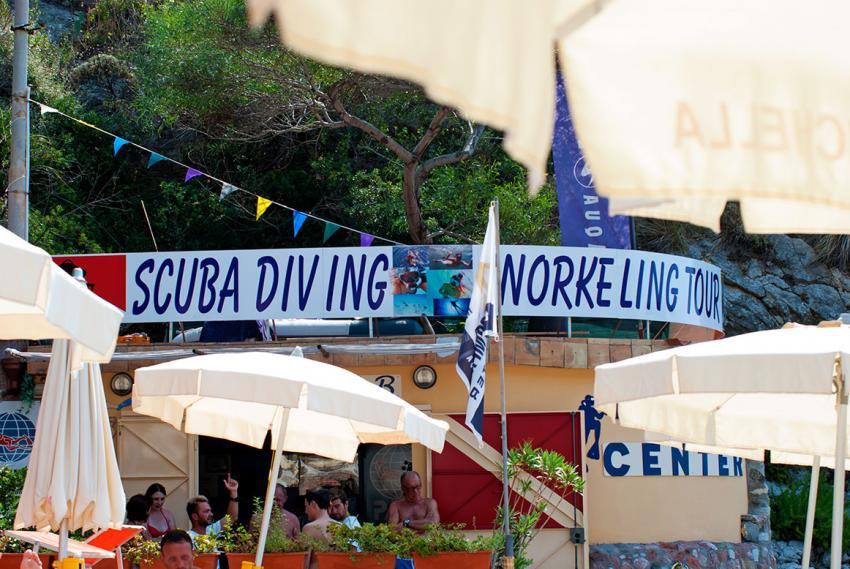 Nike Diving Center, Isola Bella (Sizilien), Italien