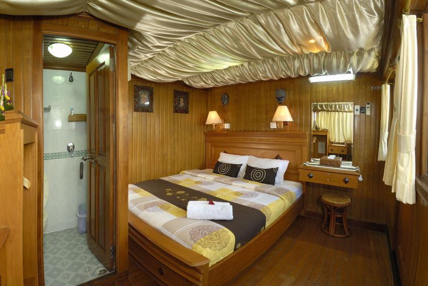 upper deck double, Sea Safari 6, Indonesien