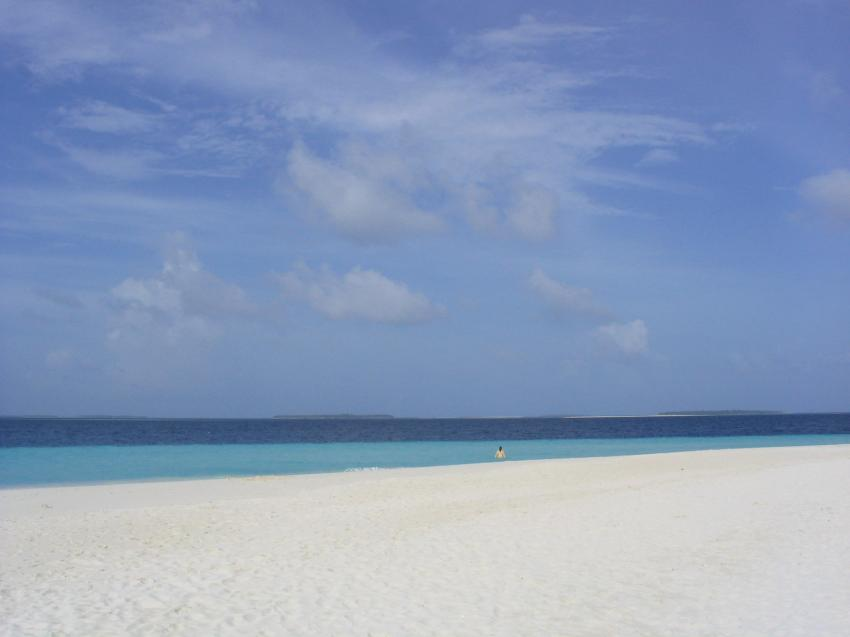 Reethi Beach( Baa Atoll), Reethi Beach,Malediven,strand,meer,weiss,sand
