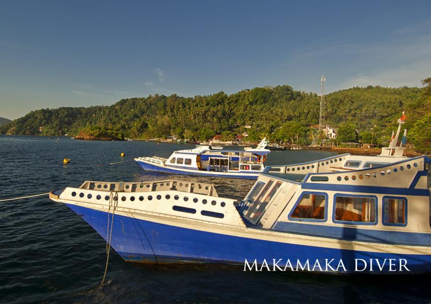 MakaMaka Divers, Dabirahe, MakaMaka Divers, Indonesien, Sulawesi
