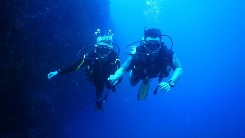 barefoot diving, owd training, The Barefoot Diving Center, Hanimadhoo, Malediven