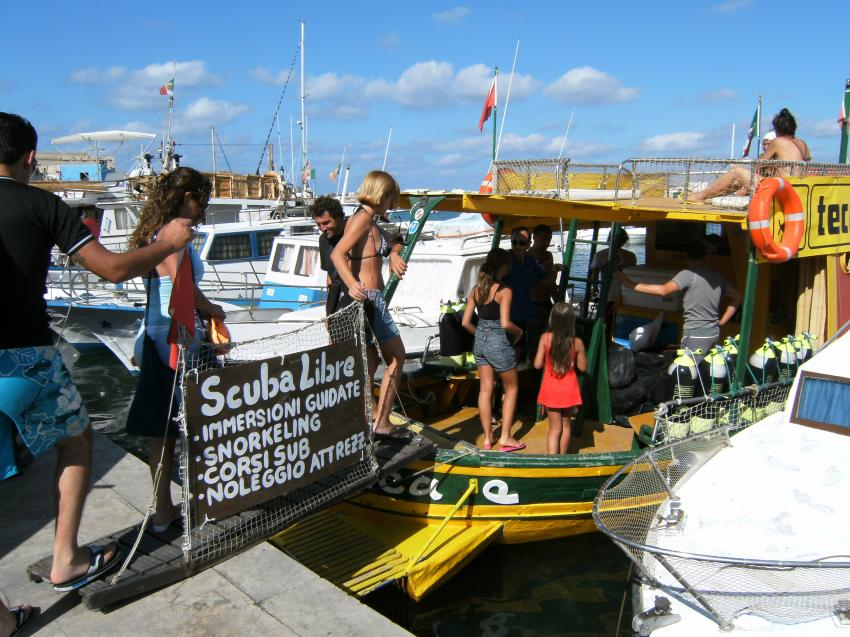 Lampedusa - with Scuba Libre