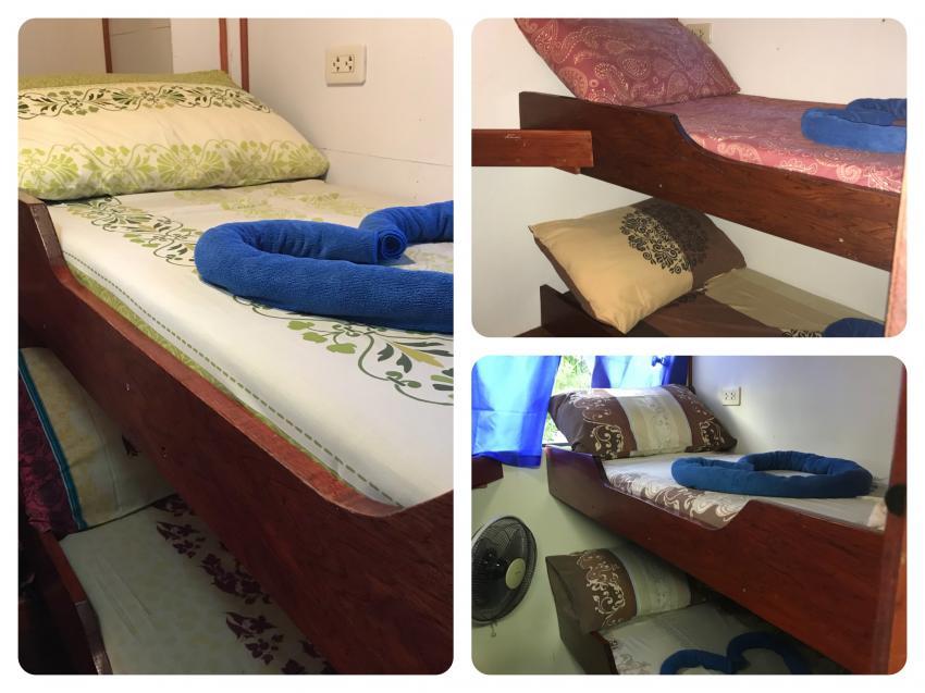 Standard bunk bed cabin, Miss Moon, AIDC Andaman International Dive Center, Ranong, Thailand, Andamanensee