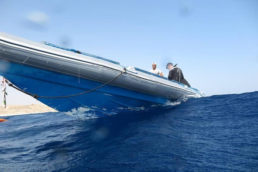 One of the Speedboats, Coraya Divers, Coraya Beach, Marsa Alam, Ägypten, Marsa Alam und südlich