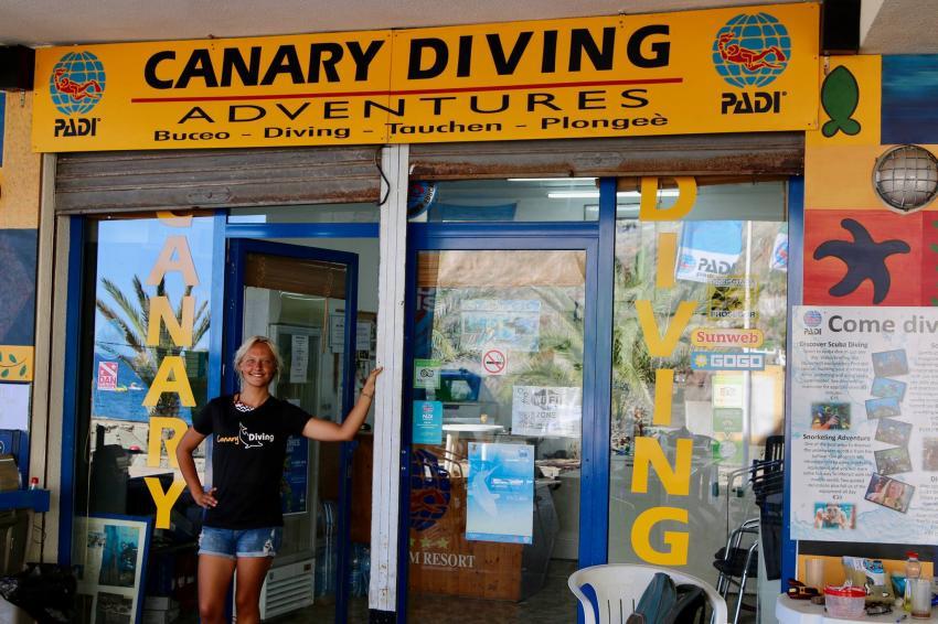 Canary Diving Adventures, Playa de Taurito, Gran Canaria, Spanien, Kanarische Inseln
