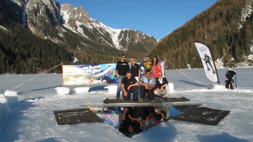 Eis Tauchen, Eistauchen, Südtirol, Italien, Event, Sportdiver Club