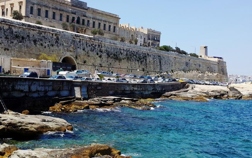 St. Elmo Bay, Valetta, Malta, Malta - Hauptinsel
