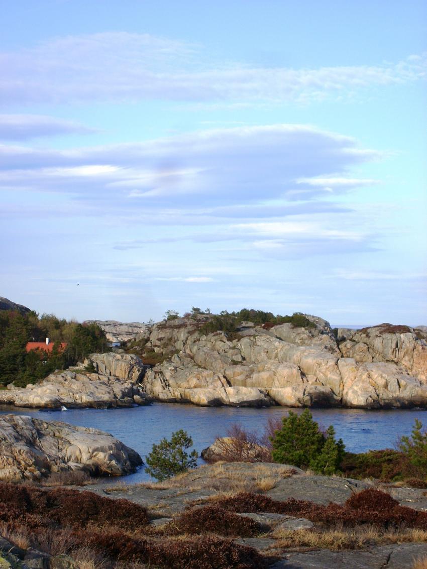 Ausblick vom Skottevig Dykke Senter, Kristiansand