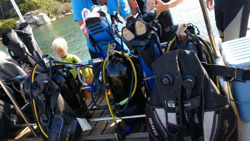 Proteus Diving, Baia Sardinia (Sardinien), Italien, Sardinien