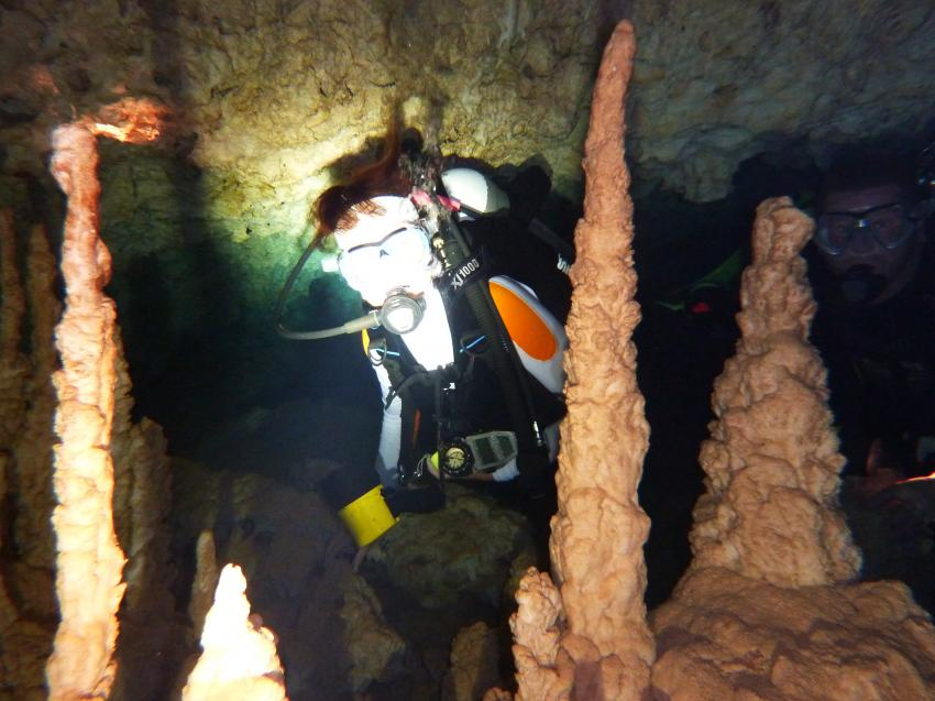 Höhlentauchen Boca Chica, Höhle Cueva Sirena,Dominikanische Republik