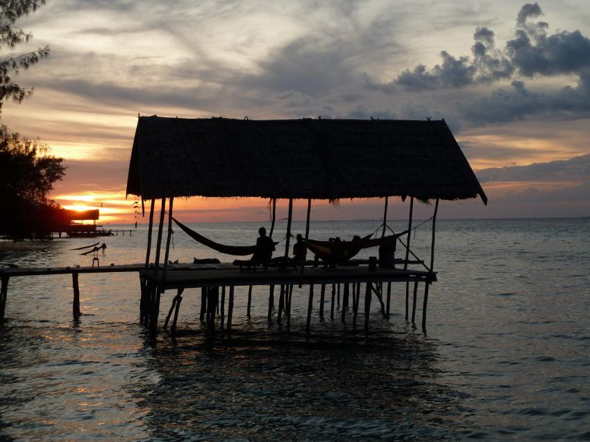 Hängemattenplattform, Yenkoranu Homestay+Diving, Indonesien, Allgemein