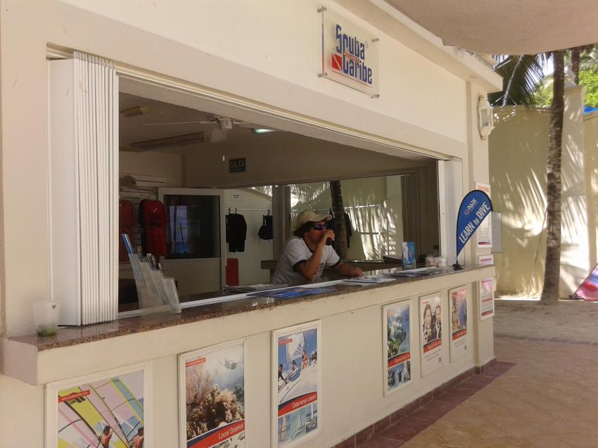 ScubaCaribe Tauchabse im RIU Palace Riviera Maya, ScubaCaribe Playa del Carmen - RIU Hotels, Mexiko