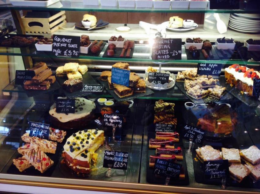 Oban Chocolate Company - Theke, Oban, Chocolate Company, Schottland, Oban Chocolate Company, Großbritannien