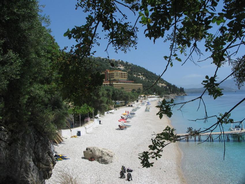 Waterhoppers, Nissaki Beach, Korfu, Griechenland