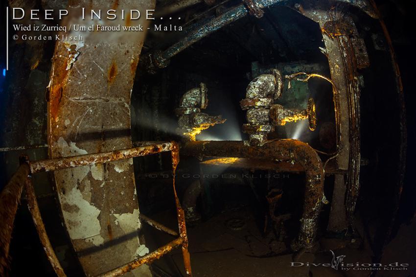 Deep Inside / Gorden Klisch, Wrack Um El Faroud, Wied iz Zurrieq, Malta, Malta - Hauptinsel