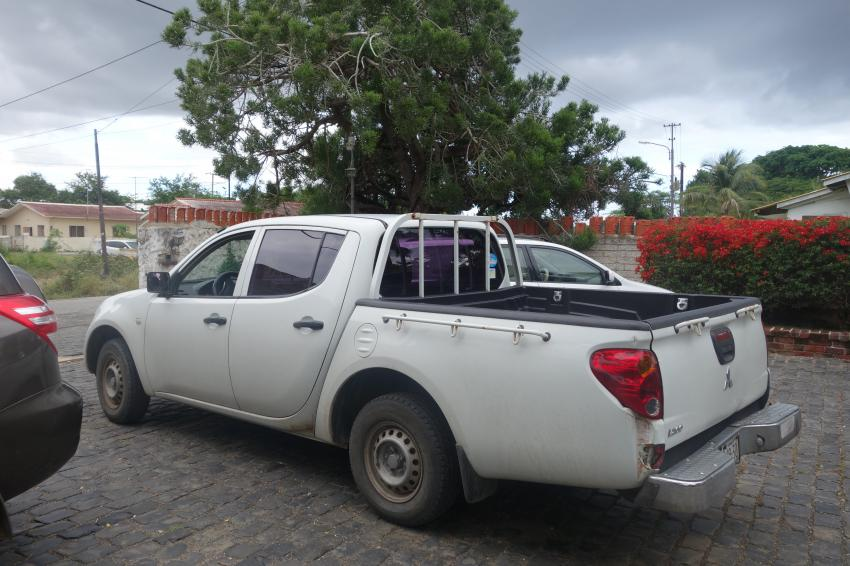Unser Auto, Curacao Divers (Sun Reef Village), Sint Michiel, Niederländische Antillen, Curaçao