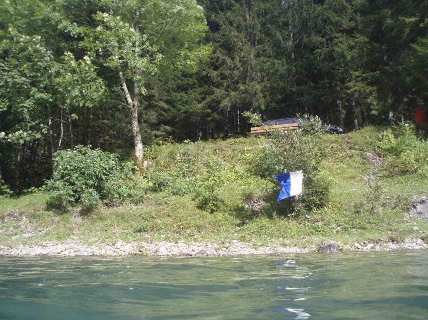 Klöntalersee, Schutzhütte, Klöntalersee,Schutzhütte,Schweiz,Einstieg