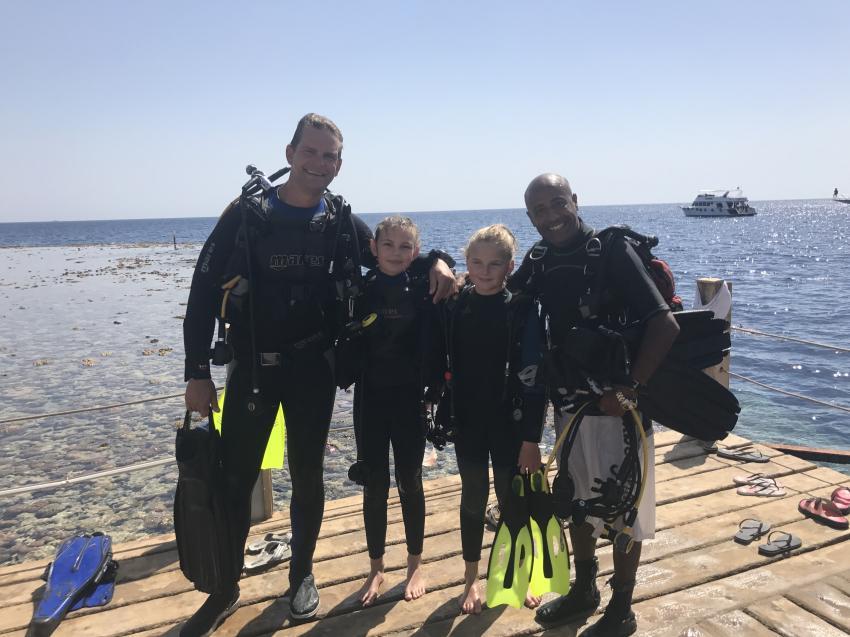 Saher und meine Mädels, Diving & Discovery, Sharm el Sheikh, Ägypten, Sinai-Süd bis Nabq