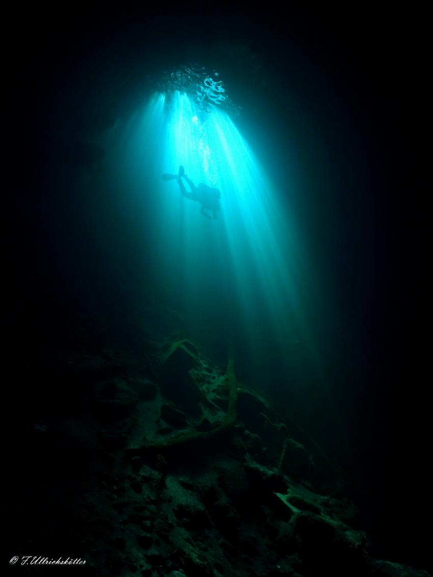Höhlentauchen, Cenote, DiveMex, Playa del Carmen, Mexiko