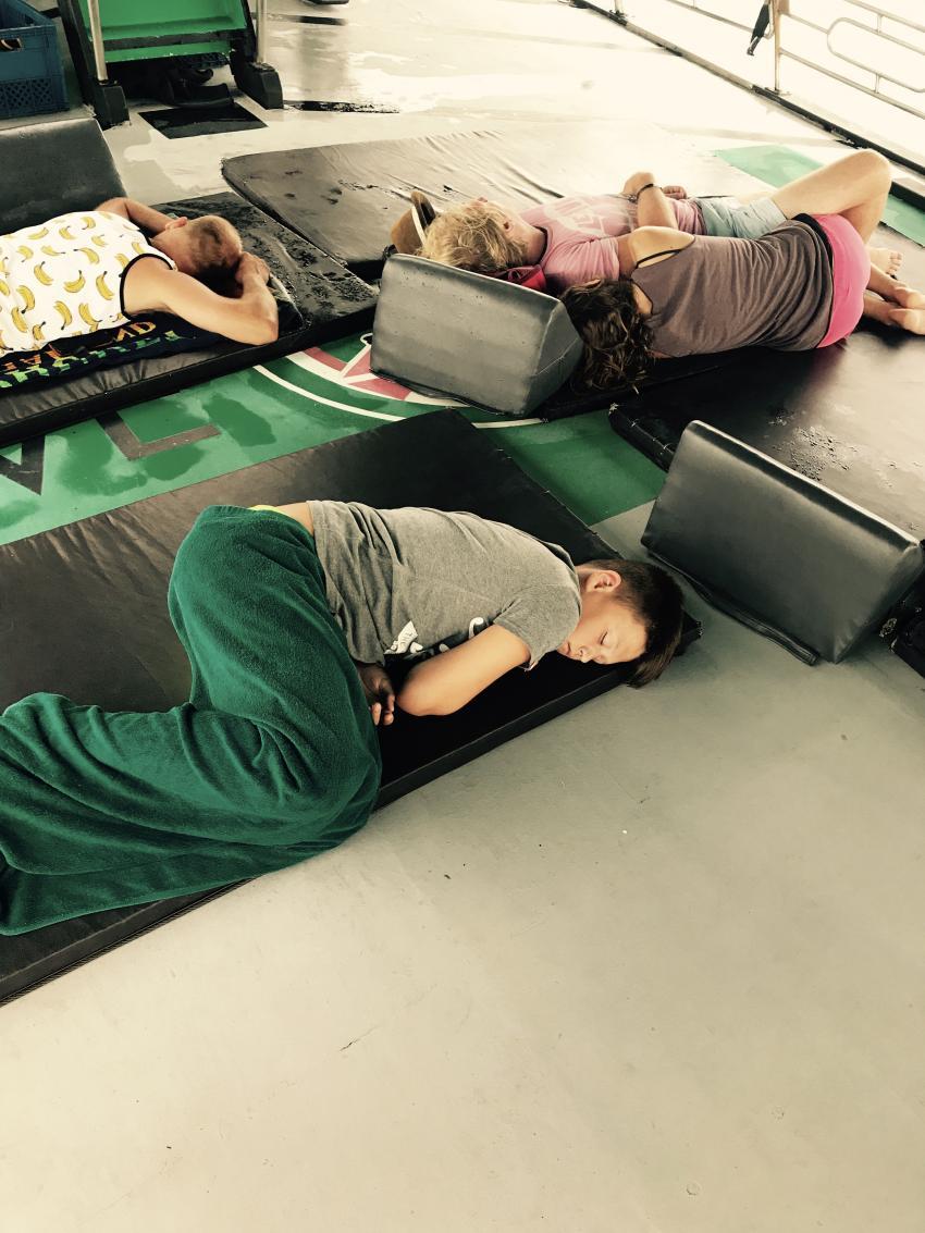 Tauchen macht müde, Member Diving, Koh Samui, Thailand, Golf von Thailand