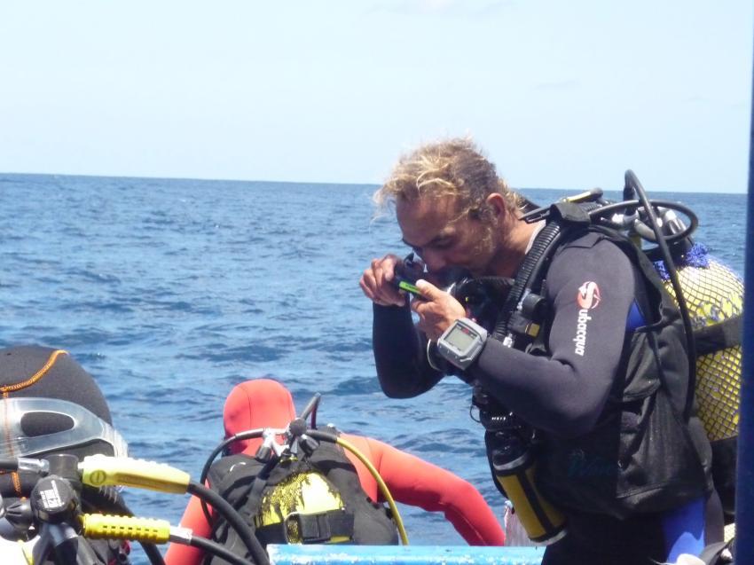 Eindrücke Manta Dive Center - Manta Maria, Sal, März 2009